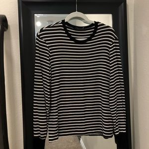 Reformation Striped Long Sleeve
